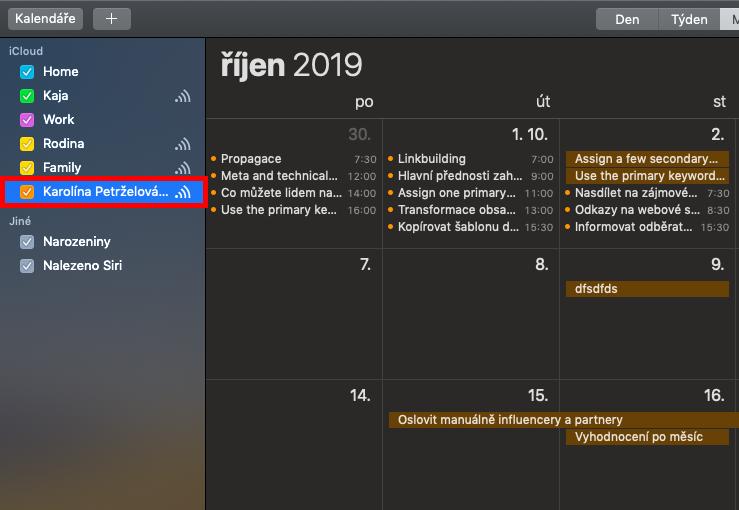 Povol zobrazení Freelo kalendáře podle potřeby.