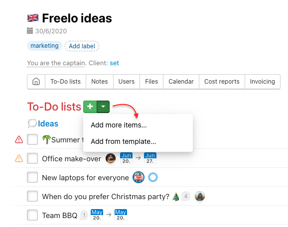 How to add multiple tasks to TO-Do list.